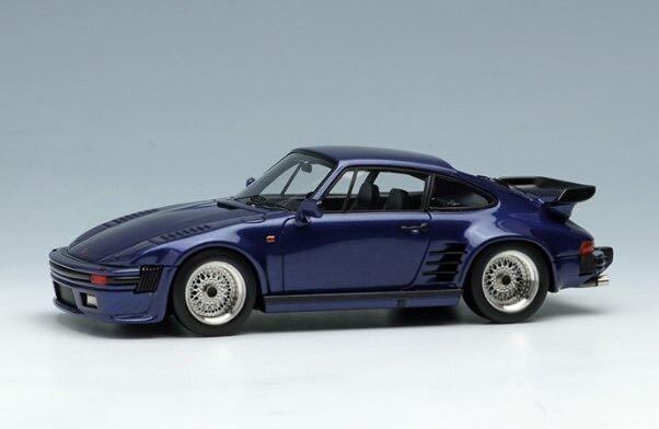 Maquillage Vision VM089B4 1 43 Porsche 930 Turbo Flat Nose 1988 BBS roue bleu foncé