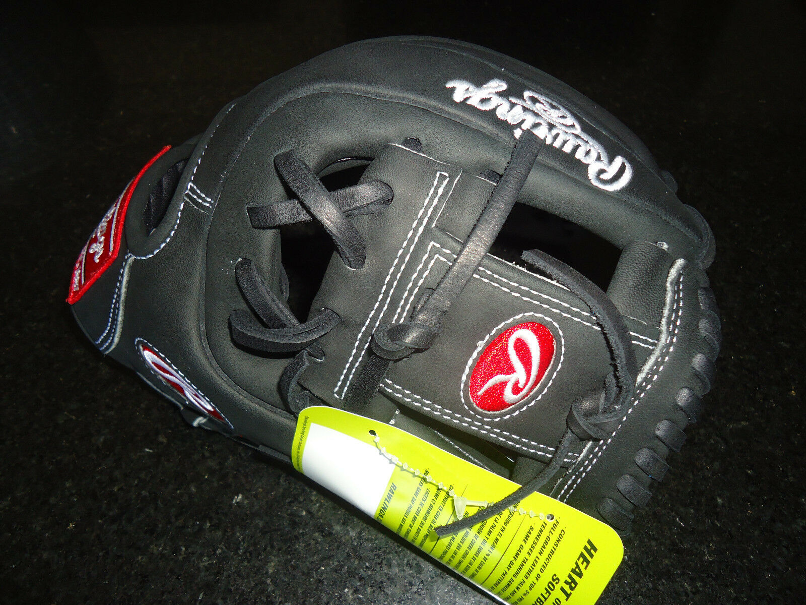 Rawlings Heart of the hide (HoH) PRO315SB-2B Fastpitch Softball guante -11.75  RH