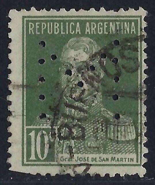 Argentina Perfin M4 - M: La Federal S.R.L., (1924-1951), Buenos Aires