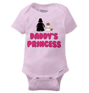 Nerdy Space Princess Niece Daughter Shower Girls Youth Newborn Infant Rompers