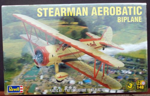 wieder neu Revell 5269 wieder neu 2015 1:48 Stearman Aerobatic Biplane PT17