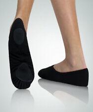 Body Wrappers 246A Adult Size 3M Black Canvas Split Sole Ballet Slipper