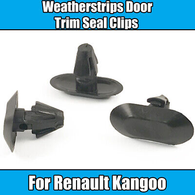Fasteners 10x Weatherstrip /& Rubber Door Seal Gasket Clips