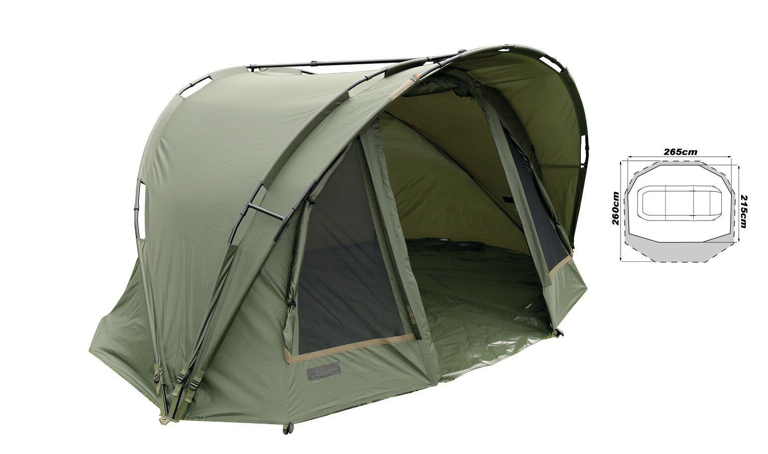 Fox Royale Classic Bivvy  1 Mann CUM148 Karpfenzelt Angelzelt Tent Bivvie Zelt  world famous sale online