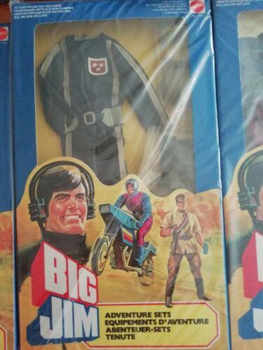 Mattel-Abito Big Jim 7147 Guidatore Carro Mangiaostacoli,1983 nuovo mai aperto