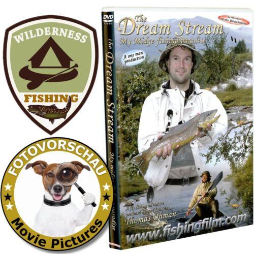 my midge fishing paradise DVD:The Dream Stream Thomas Öhmann//Sweden//Canoe//fly