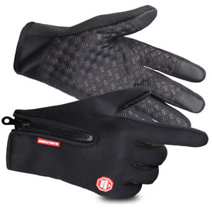 Winter Gloves for Men and Women Touch Screen Anti-Slip Silicone Gel Thermal Soft