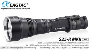 Eagletac-S25L-R-MKII-XHP35-HD-Cool-White-Rechargeable-LED-Flashlight-KIT-2200L