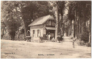 CPA-60-SENLIS-Oise-Le-Cours-petite-animation-Coll-R-F
