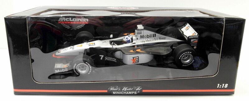 MINICHAMPS 1 18 Scale miniature - 530 981807 McLaren Mercedes mp4 13 D. Coulthard