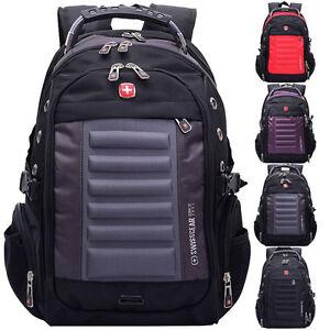 "Swiss Gear Men 15"" Laptop Backpack Computer Notebook Outdoor ..."