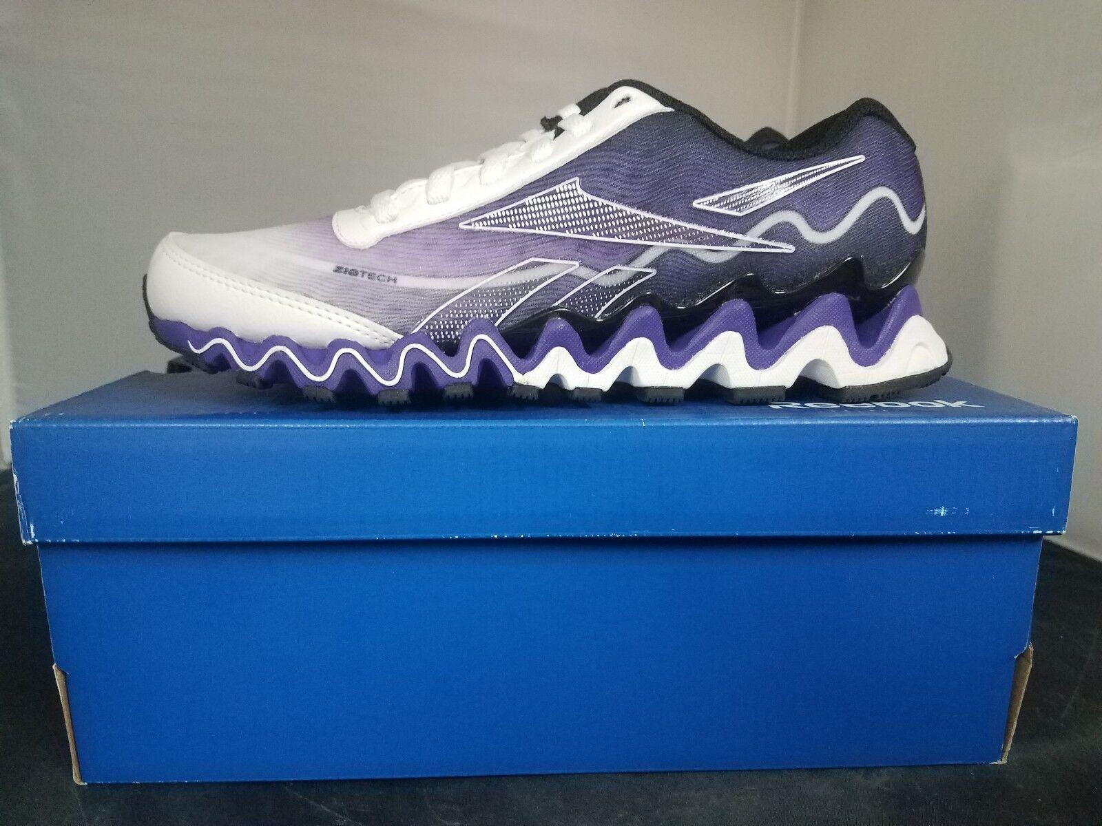 Reebok Para Mujer Talla 6.5 Zigultra Zapatillas blancoo blancoo blancoo Negro púrpuraa Azul-Nuevo  Compra calidad 100% autentica