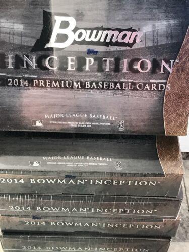 AARON JUDGE AUTOS MEADOWS 2014 BOWMAN INCEPTION BASEBALL HOBBY BOX  KRIS BRYANT