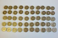 50 Sunbed Tokens M2 Silver Compatible With L2 Sunbed Tanning Token Meter Machine