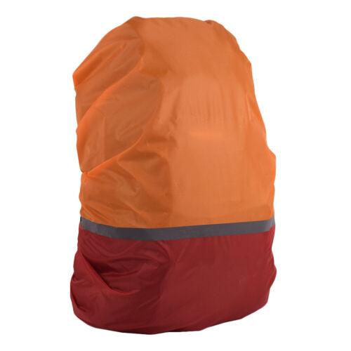 Waterproof Reflective Strip Backpack Outdoor Hiking Camping Rain Cover Bag US JR