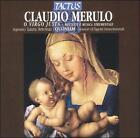 Claudio Merulo: O Virgo Justa (CD, 2004, Tactus)