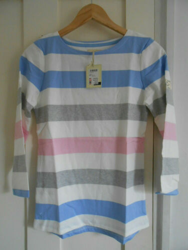 BNWT Joules harbour jersey top 3//4 sleeves stripes UK6