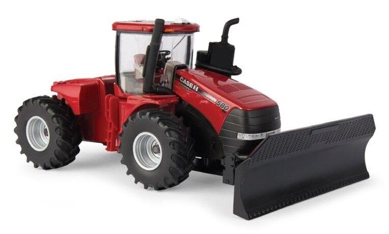 ERT44132 - Tracteur CASE IH STEIGER 580 avec lame frontale - 1 32