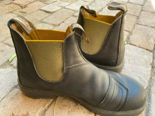 Blundstone Ducati Special Black Leather AUS Size 8