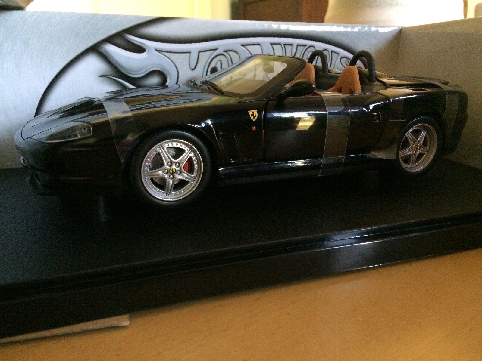 Ferrari Barchetta Spider Pininfarina  - Hotwheels 1 18 scale.