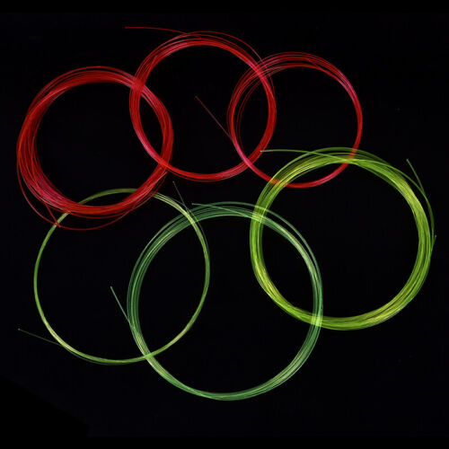 5m Fiber Optic Bow Sight Replacement Pins Compound Bow Slingshot Hunting Fib~GQ