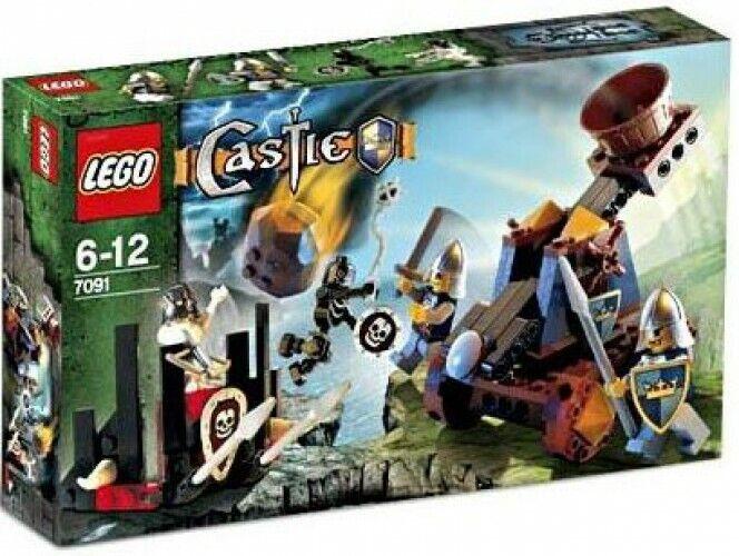 Lego Castillo Caballero's catapulta defensa Set