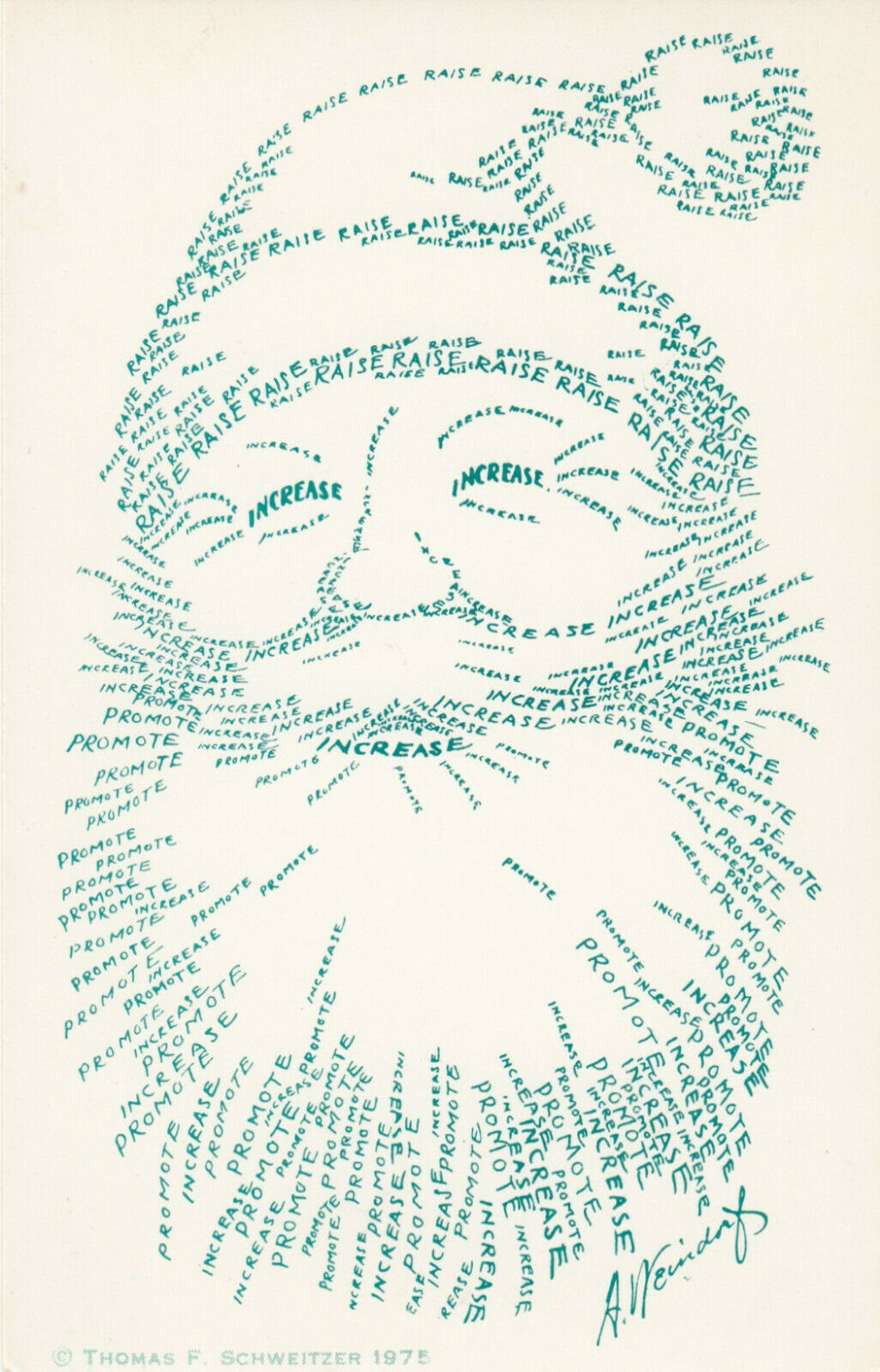AS; Arthur WEINDORF, 1940-60s; Ecology Santa Claus