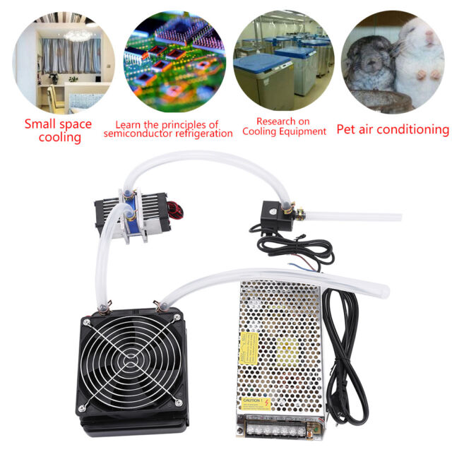 Termoeléctrico Peltier Refrigerador Enfriador TEC1-12706 + Agua Enfriamiento Kit