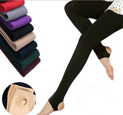 New Women's Winter Autumn Warm Fleece Lined Sexy Thermal Stretchy Leggings Pants