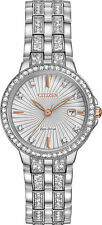Citizen Women's 'Silhouette' Quartz Stainless Steel Casual Watch EW2340-58A