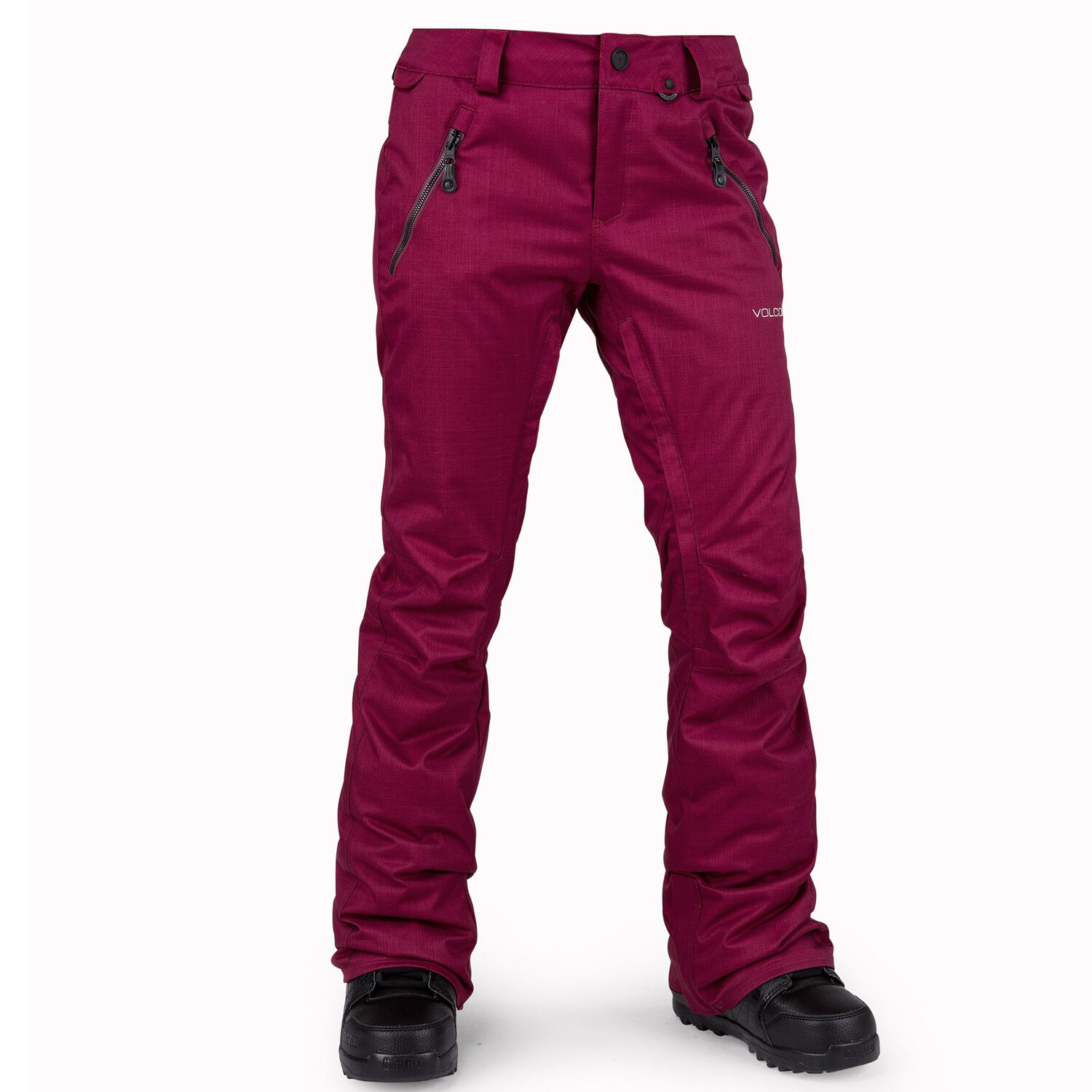 VOLCOM Womens 2017 Snowboard Snow Mulberry CALICO INSULATED PANT