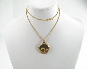 Luxurioese-750er-Gold-Halskette-mit-Anhaenger-Brillant-Edelstein-18K-21-90-Gramm