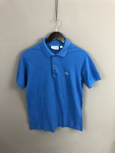 LACOSTE-Polo-Shirt-Size-4-Medium-Blue-Great-Condition-Men-s