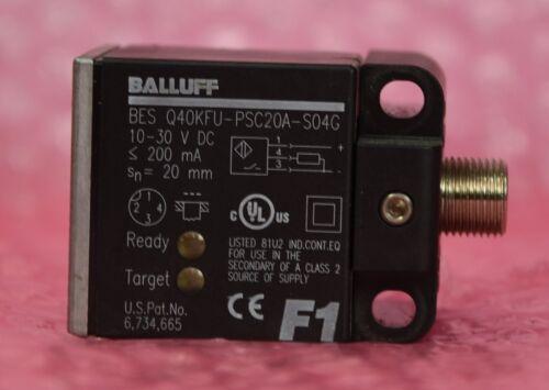 bes q40kfu-psc20a-s04g Balluff inductiva sensor//sensor proximidad tipo