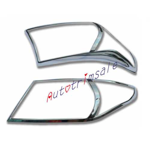 Head Light Lamp Cover Trim Decoration For Toyota Land Cruiser LC200 2012-2015