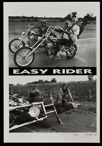 Plakat Easy Rider Jack Nicholson Hopper Fonda Harley Davidson Motorrad Denis PP2