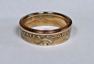 034-Sealed-034-US-GOLD-DOLLAR-COIN-RING-SIZE-7-13