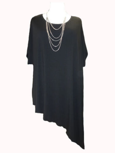 symmetric Tunic with side slits Made in UK CA64 Caroline Ann Lagenlook Long A