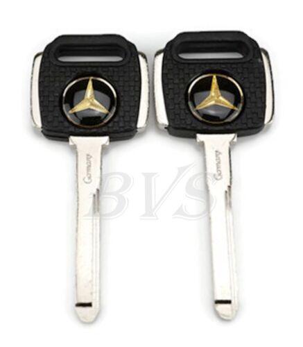 1X MERCEDES BENZ BLANK KEY C S SEL SL SLC W126 W201 190 200 230 260 300 CLASSES