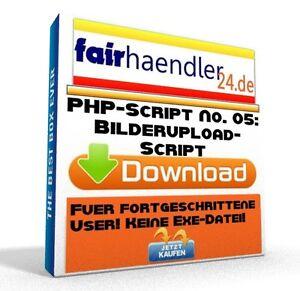 PHP-SCRIPT-No-05-Bilderupload-Webmaster-Bilder-Upload-Software-PC-Neu-E-Lizenz