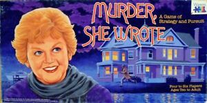 Murder-She-Wrote-1985-Board-Game-Replacement-Parts-amp-Pieces-Angela-Lansbury