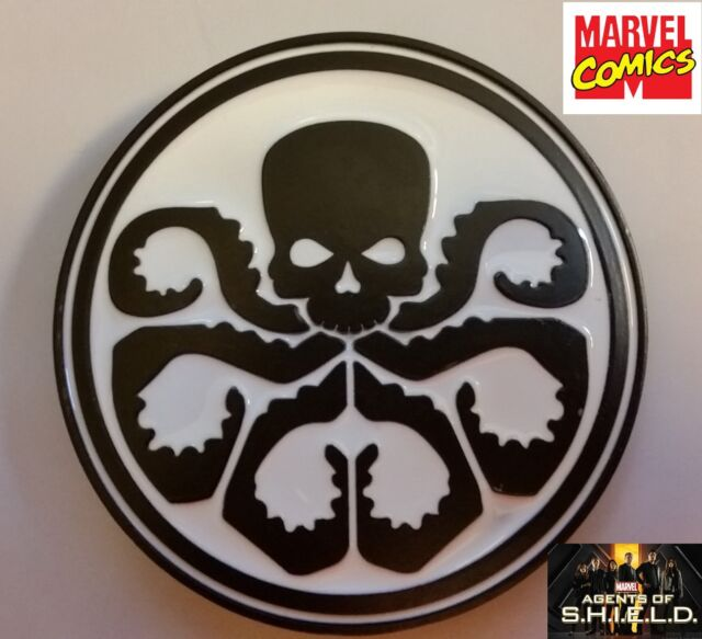 Marvel Comics Captain America HYDRA Logo Metal/Enamel BELT BUCKLE Collectible wh