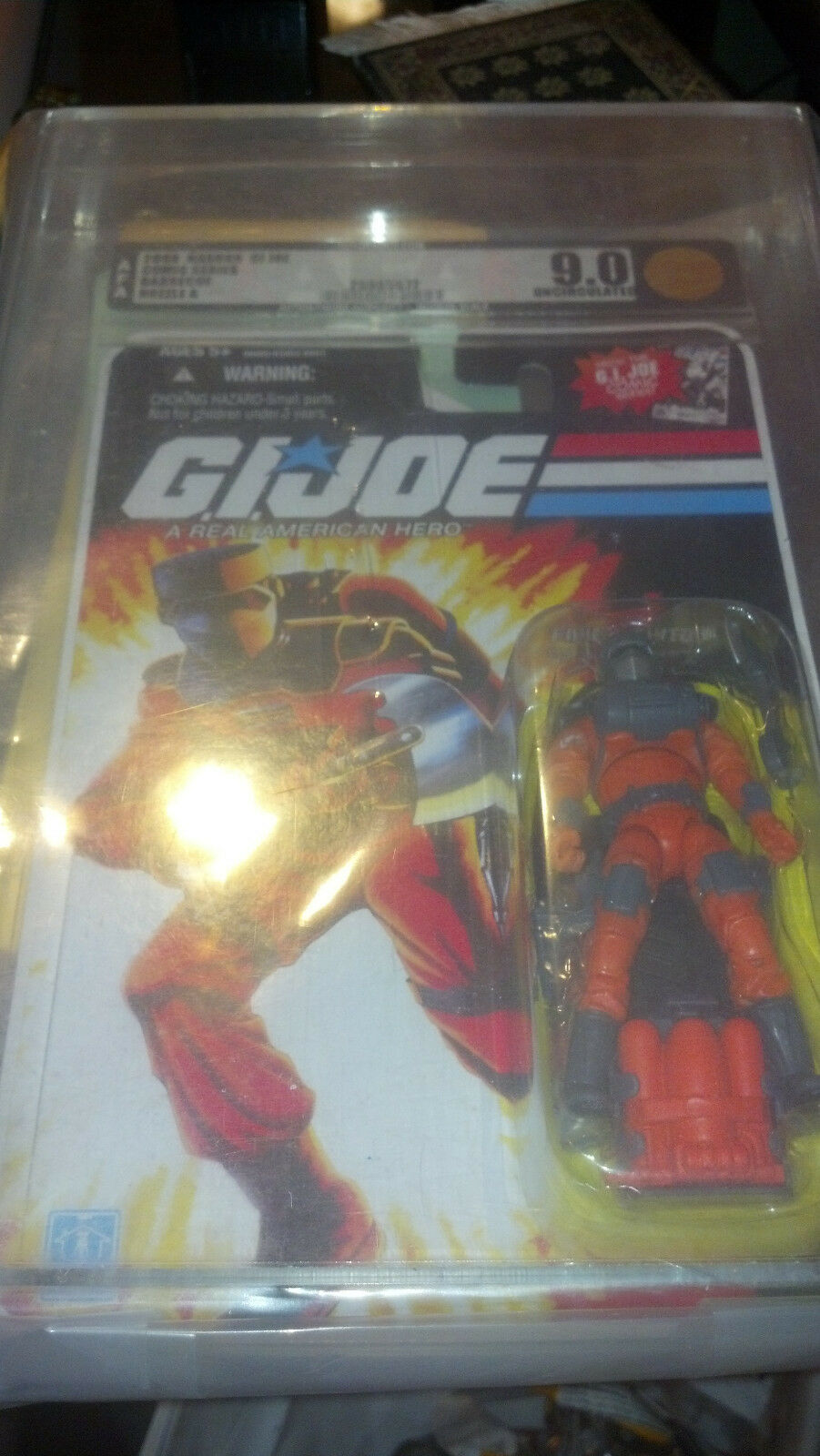 AFA 9.0 2008 Hasbro BARBECUE GI Joe 25th 30th Retaliation Pursuit ONLY 1 ON EBAY