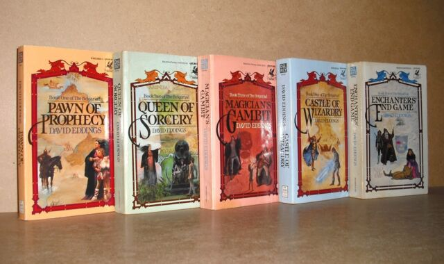Belgariad Series Collection Set by David Eddings Books 1-5 BRAND NEW!