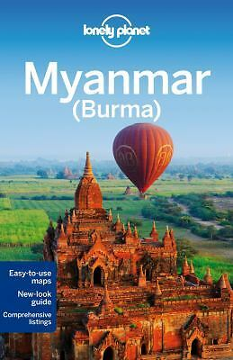 LONELY PLANET MYANMAR (BURMA) - S. RICHMOND (PAPERBACK) NEW