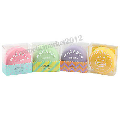 It's Skin Macaron Lip Balm 9g Choose 1 among 4 Colors Free gifts