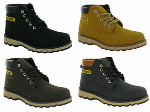 MENS-BOYS-HIKING-WALKING-TRAIL-CASUAL-COMFY-LACE-UP-WINTER-ANKLE-BOOT-SIZE-7-12