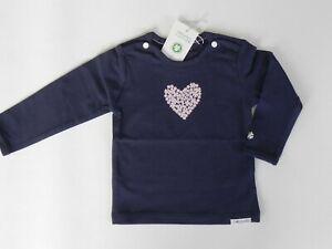 Noppies-Baby-Maedchen-Langarmshirt-Gr-62-NEU-Herz