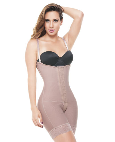 ANN MICHELL 3 HOOKS FAJA COLOMBIANA Shaping Full Body Shaper Post Surgery 6147
