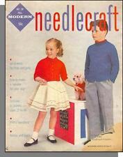 Modern Needlecraft - 1956, Fall - Fashion Knitting! Womens, Boys & Girls, Dogs
